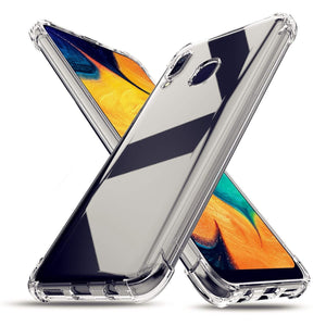 Shockproof Bumper Flexible Thin Cover Galaxy A20 (2019) Case - MyPhoneCase.com