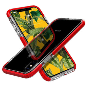 Anti-Scratches Shockproof Bumper iPhone Xs Max Case - Red - MyPhoneCase.com