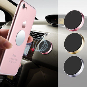 Magnetic Dashboard Cell Phone Holder Mount Cradle Stand Sticker 3 Pack - MyPhoneCase.com