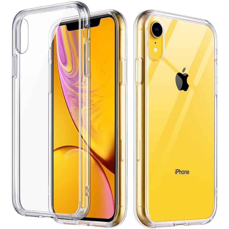 "ULAK Slim FIT Premium Transparent Flexible iPhone XR (6.1"") Case"
