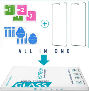 9H Tempered Glass Screen Protector for Galaxy A52 [2-Pack]