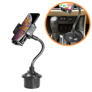 Cup Holder Phone Mount Universal Mobile Cell Phone Holder For Car - MyPhoneCase.com