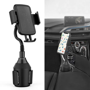 Cup Holder Phone Mount Adjustable Gooseneck Cup Holder Cradle Car Mount - MyPhoneCase.com