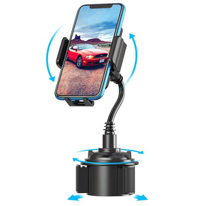 Car Phone Mount Adjustable Cup Holder Phone Mount 360° Rotatable Cradle - MyPhoneCase.com