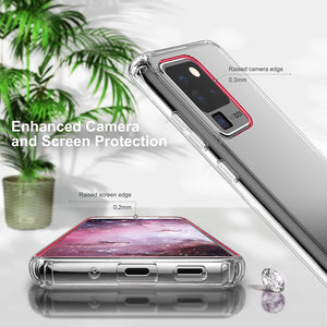 MPC Ultra Hybrid Shockproof Galaxy S20 Ultra Case - Crystal Clear - MyPhoneCase.com
