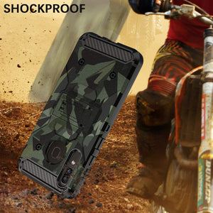 Rugged Armor Kickstand Galaxy A50/A30/A20 (2019) Case - Camouflage - MyPhoneCase.com