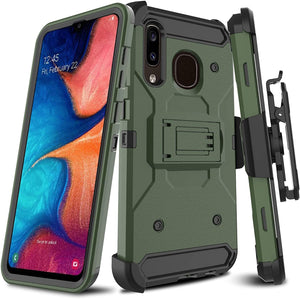 Storm Tank Galaxy A50 (2019) Case Holster - Army Green *Limited - MyPhoneCase.com