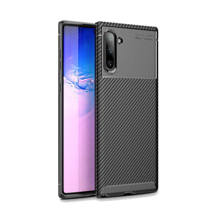 Ultra Thin Carbon Armor Galaxy Note 10 Case - Black - MyPhoneCase.com