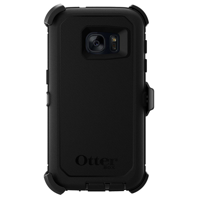 Otterbox Defender Case For Samsung Galaxy S7 - Black - Myphonecase.com