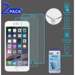 Screen Protector for iPhone 7 Plus / 8 Plus - Tempered Glass (2-pack) - MyPhoneCase.com