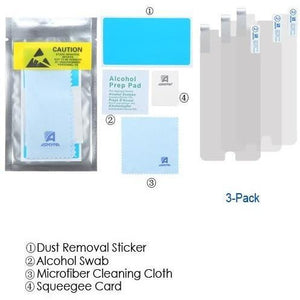 MYBAT Screen Protector for iPhone 7 / iPhone 8 - Clear (3-Pk) - MyPhoneCase.com