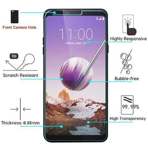 ASMYNA Tempered Glass Screen Protector for LG Stylo 5 - MyPhoneCase.com