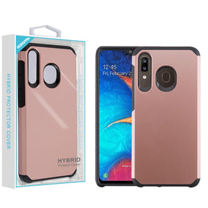 Neo Astronoot Galaxy A20 (2019) Case - Rose Gold/Black - MyPhoneCase.com