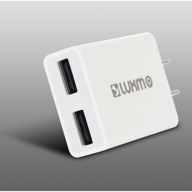 DW Universal Slim Dual USB Travel Wall Charger (Full 2.1A) - MyPhoneCase.com - 2