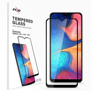Zizo Tempered Glass Screen Protector Galaxy A20 (2019) - Tempered Glass - MyPhoneCase.com