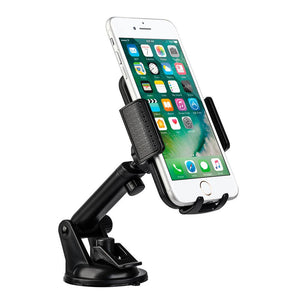 Dashboard / Windshield Cell Phone Car Mount Holder w/ Extension Arm - MyPhoneCase.com