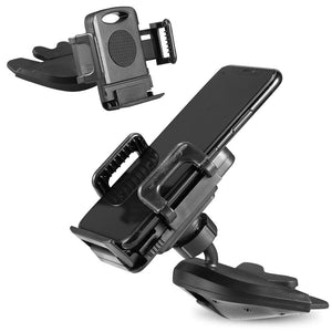 Universal CD Slot Car Mount 3-Side Grips Phone Holder for Phones - MyPhoneCase.com