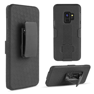 DW OEM Rugged Shell Holster Galaxy S9 Case - MyPhoneCase.com