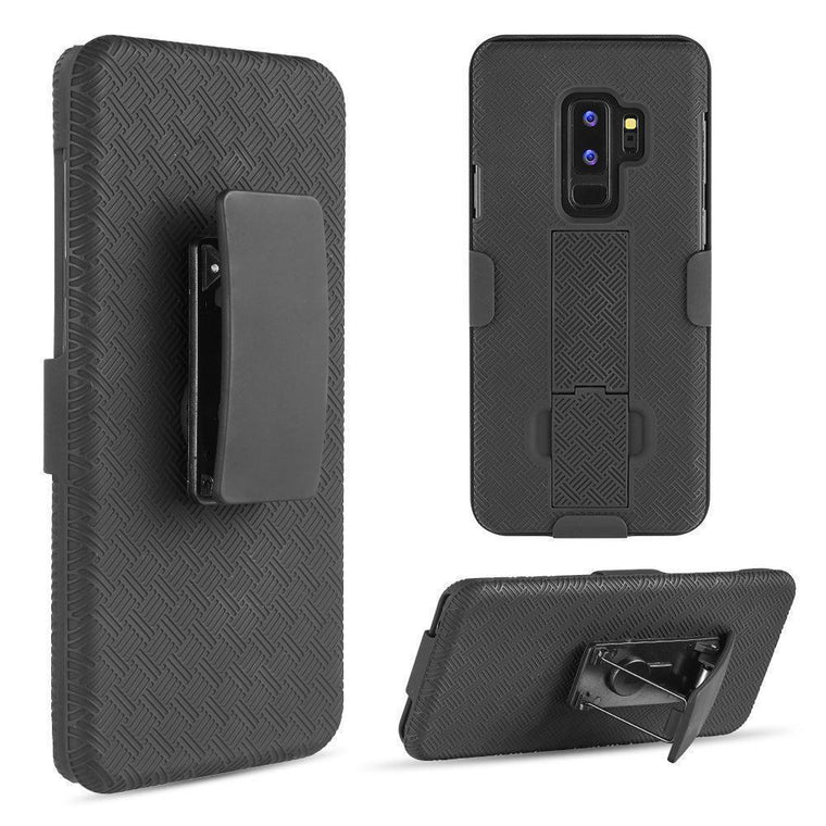 Dw Oem Rugged Shell Holster Galaxy S9+ Plus Case *bulk - Myphonecase.com