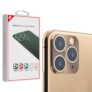MYBAT Metal Camera Lens Protector for iPhone 11 Pro Max - Gold - MyPhoneCase.com