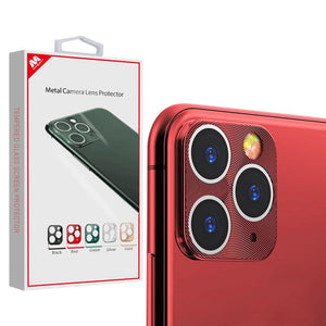 MYBAT Metal Camera Lens Protector for iPhone 11 Pro Max - Red - MyPhoneCase.com