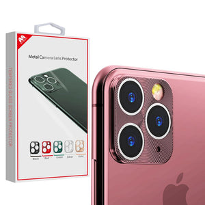 MYBAT Metal Camera Lens Protector for iPhone 11 Pro Max - Rose Gold - MyPhoneCase.com