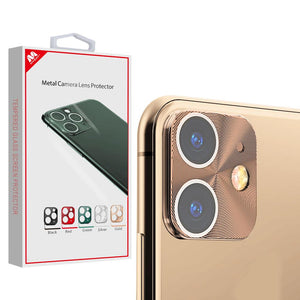MYBAT Metal Camera Lens Protector for iPhone 11 - Gold - MyPhoneCase.com