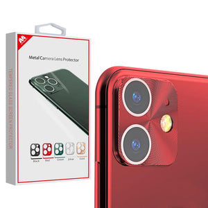 MYBAT Metal Camera Lens Protector for iPhone 11 - Red - MyPhoneCase.com