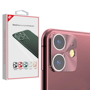 MYBAT Metal Camera Lens Protector for iPhone 11 - Rose Gold - MyPhoneCase.com