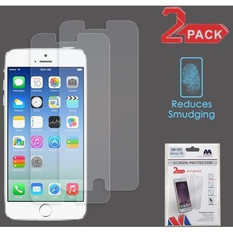 MYBAT Screen Protector for iPhone 7 - Anti-grease (2-pack) - MyPhoneCase.com