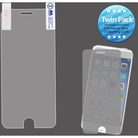 MYBAT Screen Protector for iPhone 6/6S - Clear (Twin Pack) - MyPhoneCase.com - 1