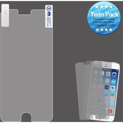 MYBAT Screen Protector for iPhone 6/6S Plus - Clear (Twin Pack) - MyPhoneCase.com