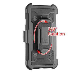 Kinetic Hybrid 3-in-1 iPhone 6/6S Case Holster - Black - MyPhoneCase.com