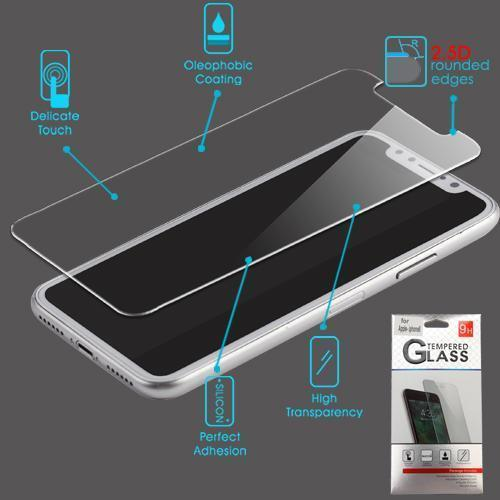 MYBAT Screen Protector for iPhone X - Tempered Glass - MyPhoneCase.com