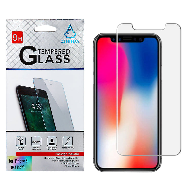 "AIRIUM Tempered Glass Screen Protector for iPhone Xr (6.1"")"