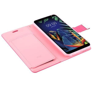 MyJacket Xtra Wallet LG K40 Case - Hot Pink/Pink - MyPhoneCase.com