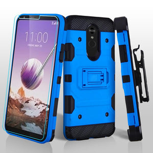 Storm Tank LG Stylo 5 Case Holster - Blue - MyPhoneCase.com