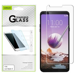 AIRIUM Tempered Glass Screen Protector for LG Stylo 5 - MyPhoneCase.com