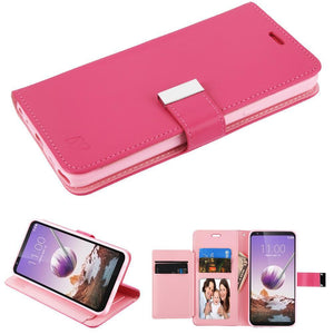MyJacket Xtra Series LG Stylo 5 Wallet Case - Hot Pink - MyPhoneCase.com