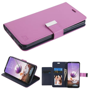 MyJacket Xtra Series LG Stylo 5 Wallet Case - Purple - MyPhoneCase.com