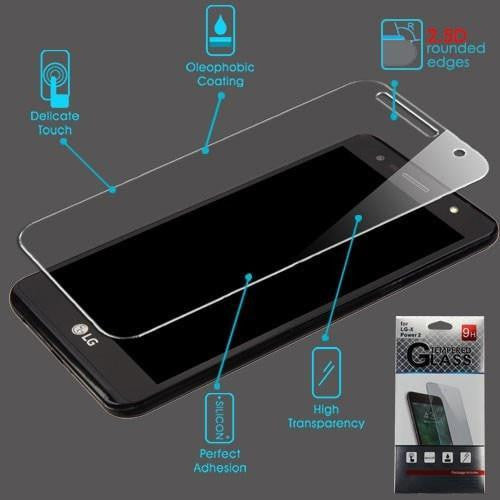 Screen Protector For Lg X Power 2 / Fiesta / X Charge - Tempered Glass - Myphonecase.com