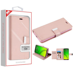 MyJacket Xtra Series Moto G7 Power / Supra Wallet Case - Rose Gold - MyPhoneCase.com