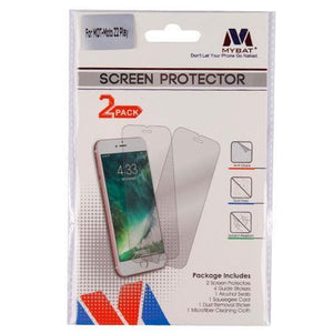 MYBAT Screen Protector for Moto Z2 Play - Clear (Twin Pack) - MyPhoneCase.com