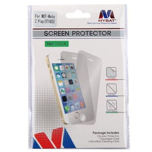 MYBAT Screen Protector for Moto Z Play - Clear (3-Pack) - MyPhoneCase.com