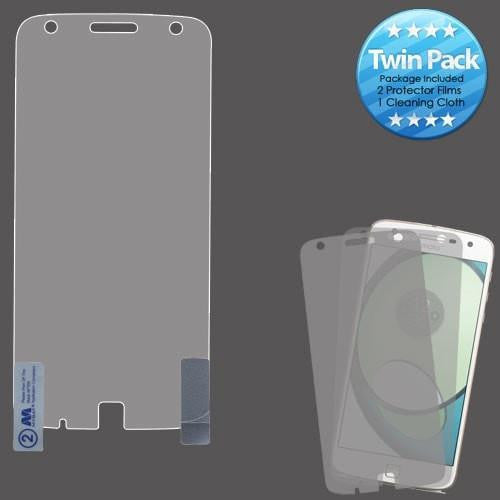 MYBAT Screen Protector for Moto Z Play - Clear (Twin Pack) - MyPhoneCase.com - 1