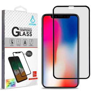 "AIRIUM Tempered Glass Screen Protector iPhone Xr (6.1"") - Full Cover - MyPhoneCase.com"