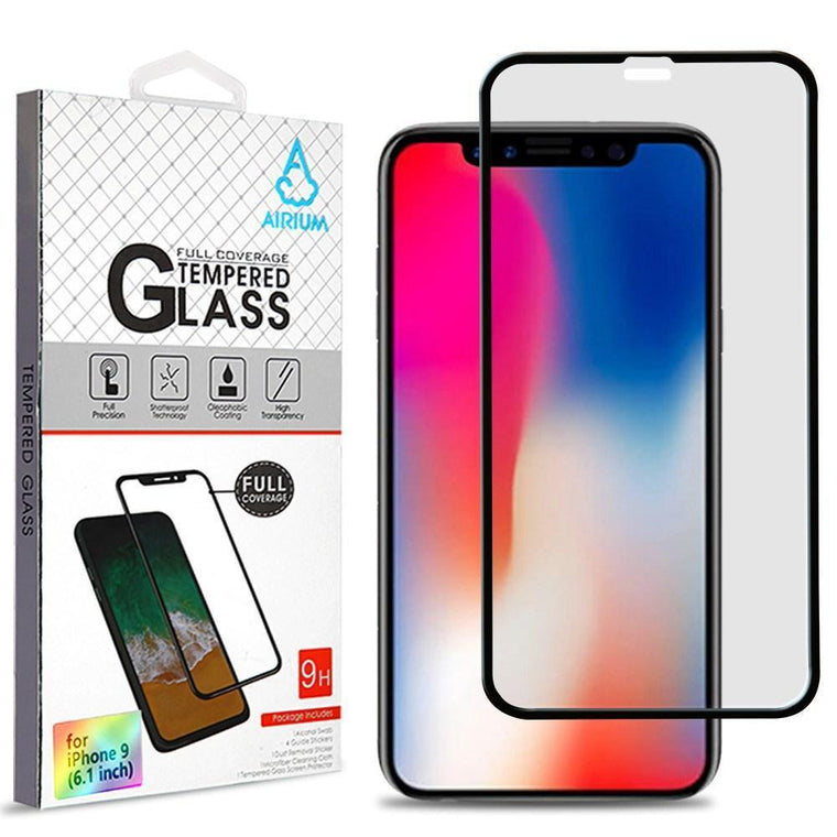 "AIRIUM Tempered Glass Screen Protector iPhone Xr (6.1"") - Full Cover"