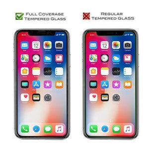"iPhone 11 Pro (5.8"") Screen Protector Full Cover Tempered Glass - MyPhoneCase.com"