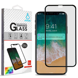 "Tempered Glass Screen Protector iPhone Xs Max (6.5"") - Full Cover - MyPhoneCase.com"
