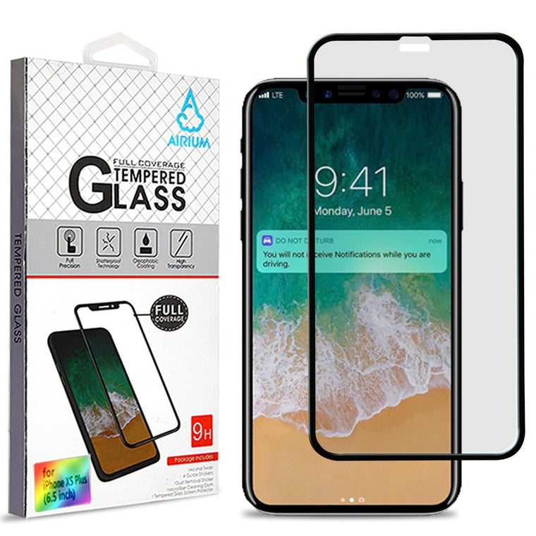 Tempered Glass Screen Protector Iphone Xs Max (6.5) - Full Cover - Myphonecase.com